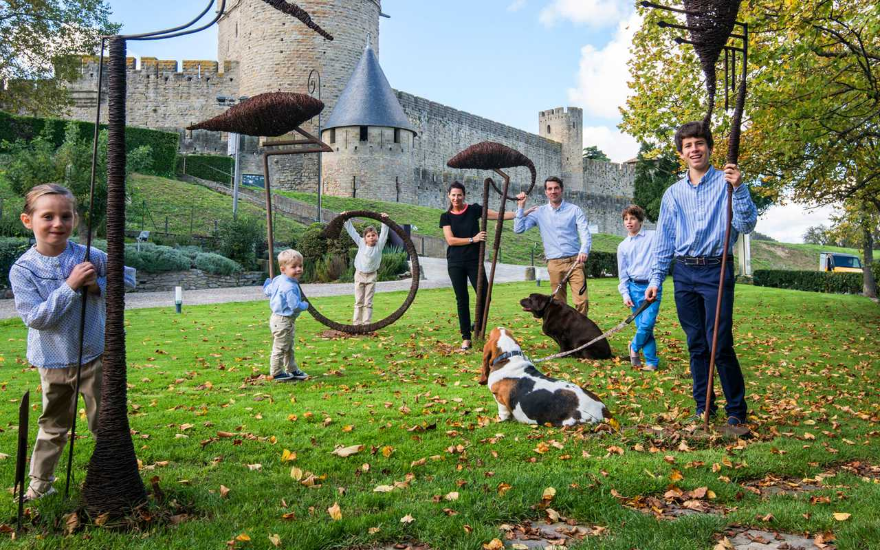 Photo de famille Hotel luxe Carcassonne