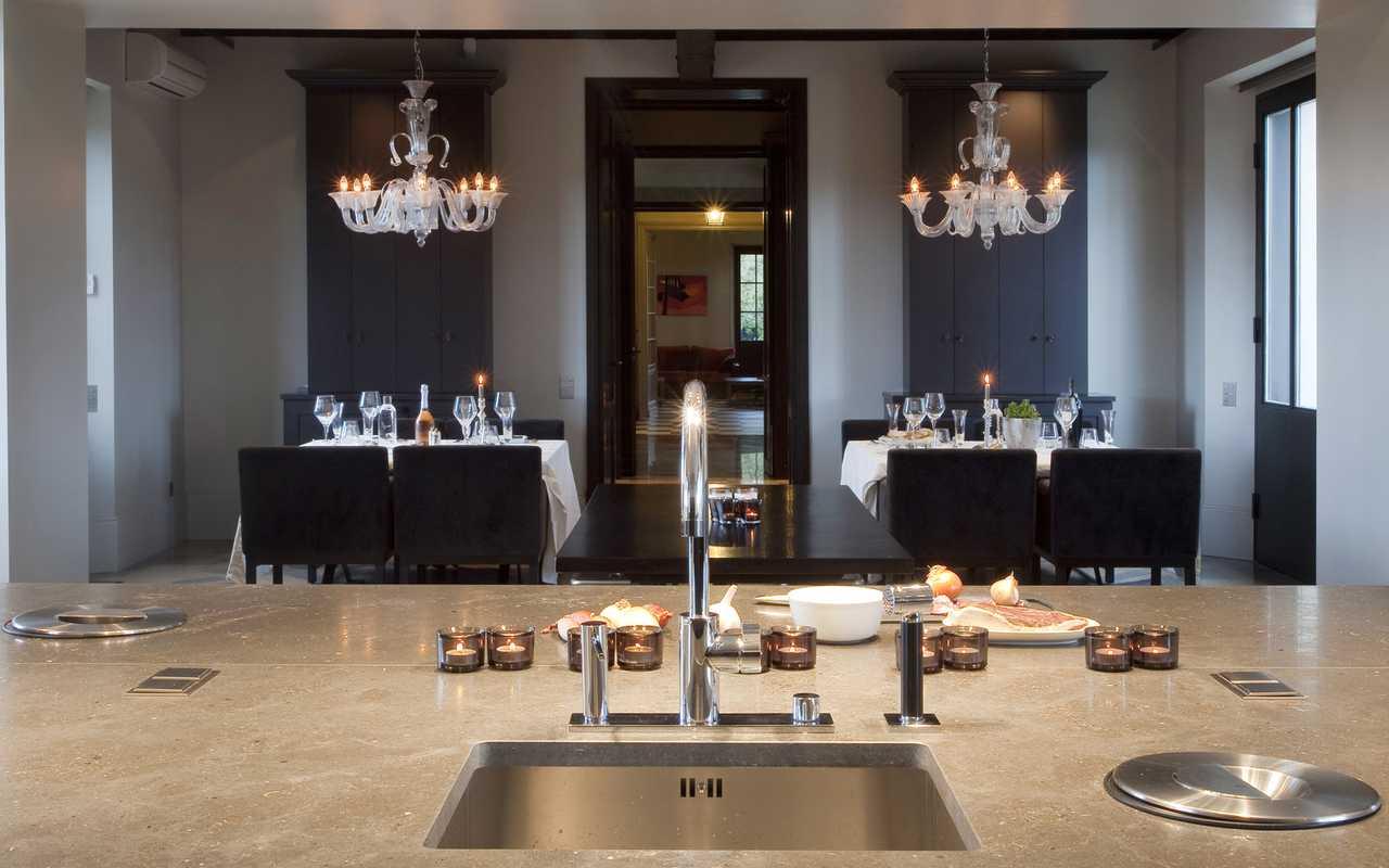 Cuisine luxueuse Hotel Luxe Aude