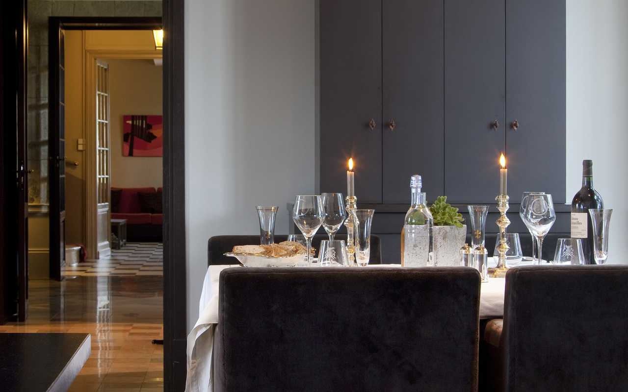 Table à manger Hotel de Charme Aude