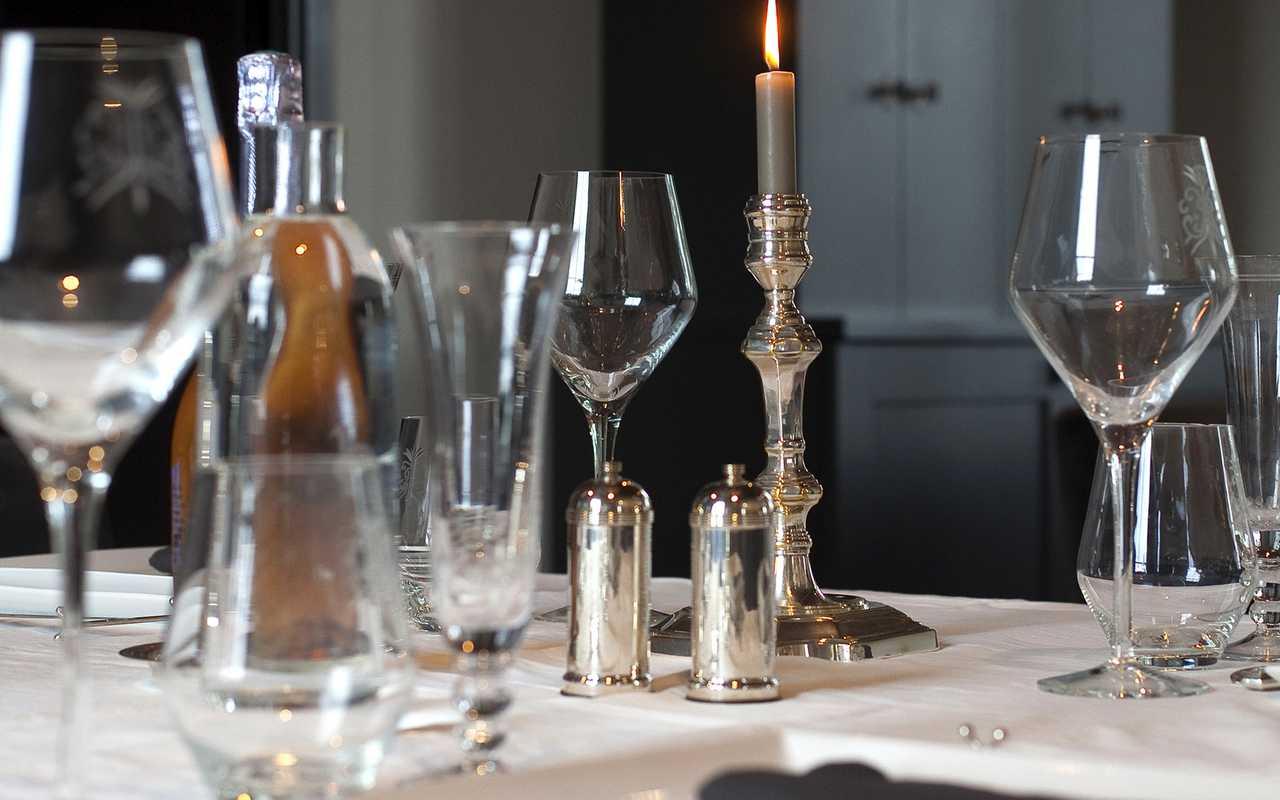 Verres de vin Hotel de Charme Aude
