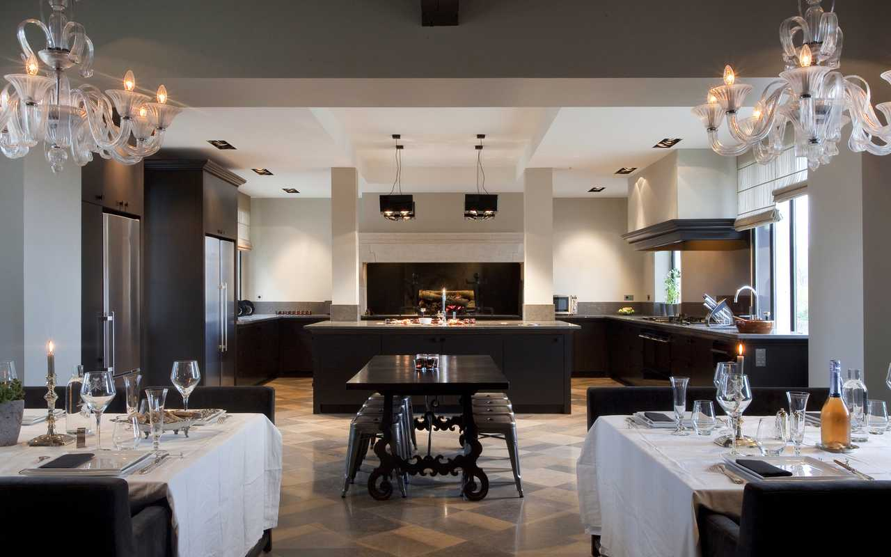 Salle de cuisine Hotel de Charme Aude