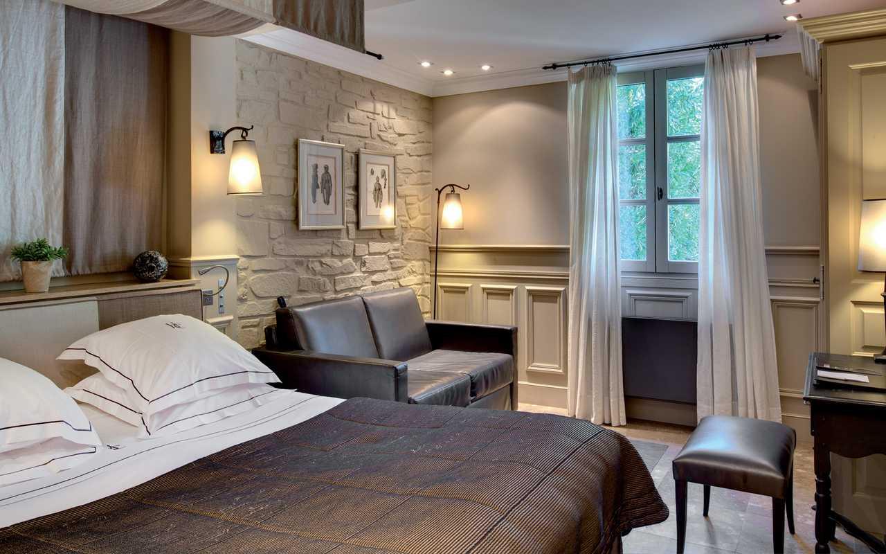Chambre supérieure moderne Hotel 4 étoiles Carcassonne