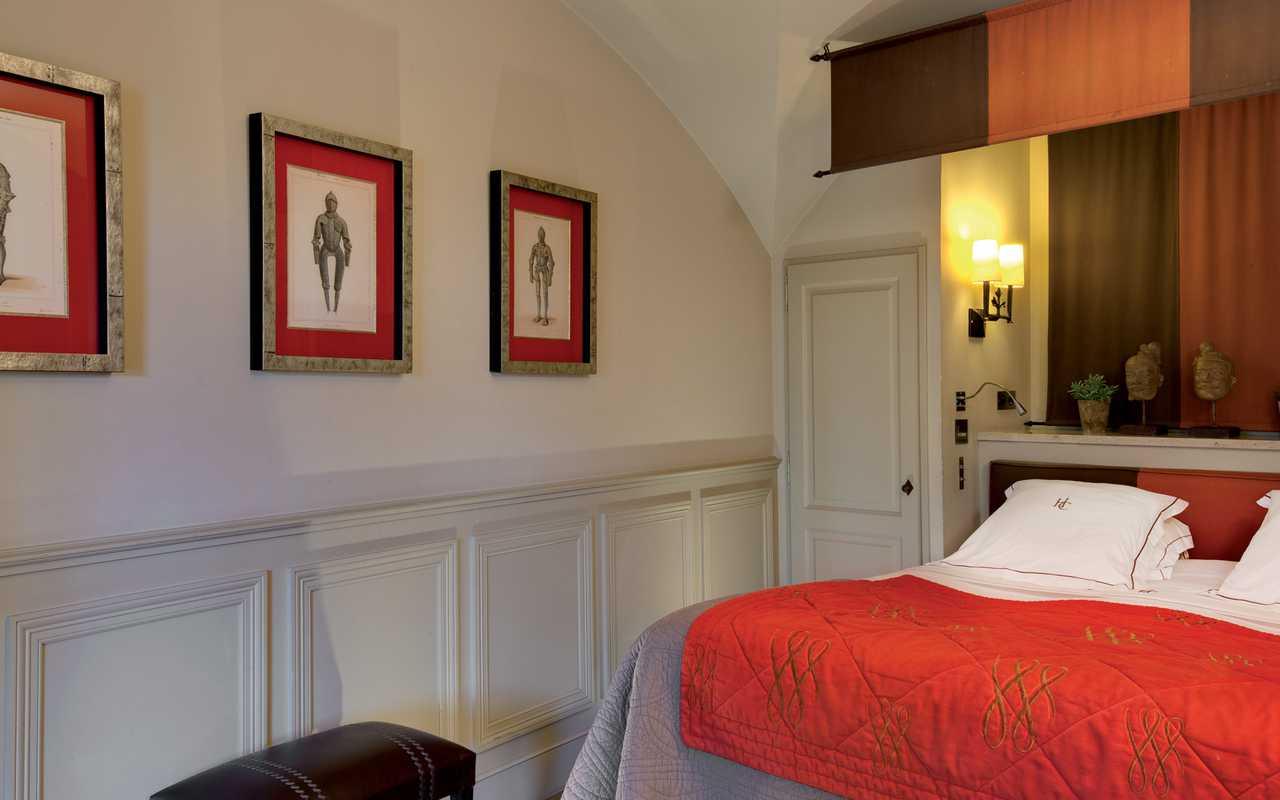 Chambre prestigieuse Hotel de Charme Aude