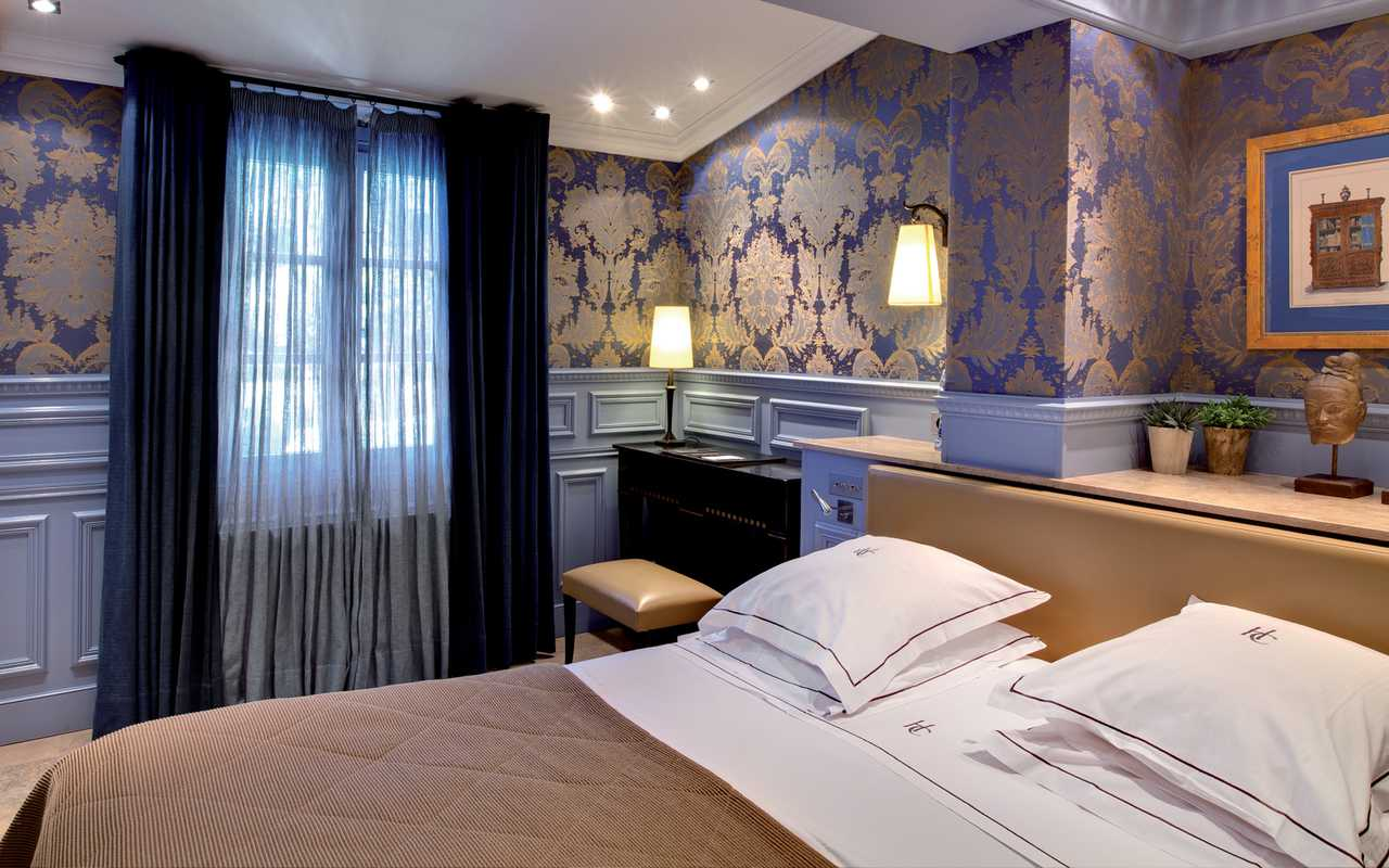 Chambre spacieuse Hotel de Charme Aude