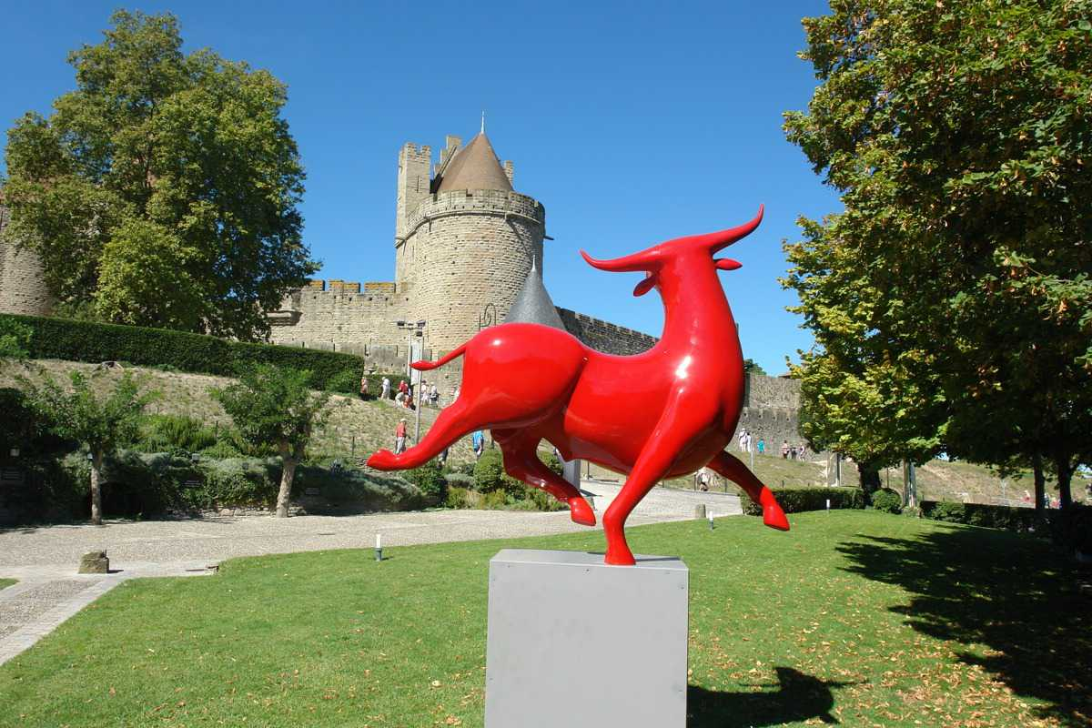 Taureau rouge Hotel luxe Carcassonne