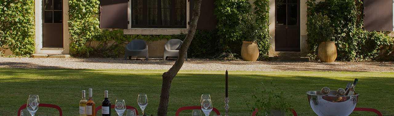 Jardin Hotel luxe Carcassonne